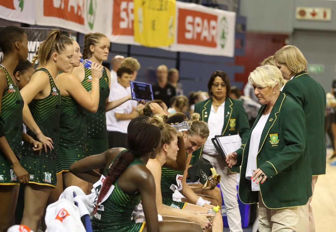 BRAVE PROTEAS GO DOWN FIGHTING