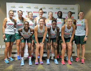 STRONG TEAM FOR NETBALL QUAD SERIES